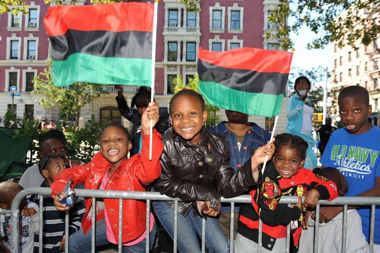 Harlem Parade Goers